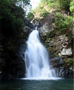 津々良の滝