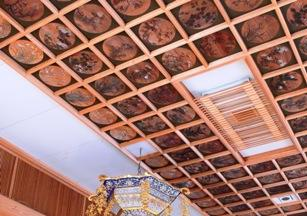 Ceiling Painting at SHOREN-JI