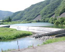 小園井堰(いせき)